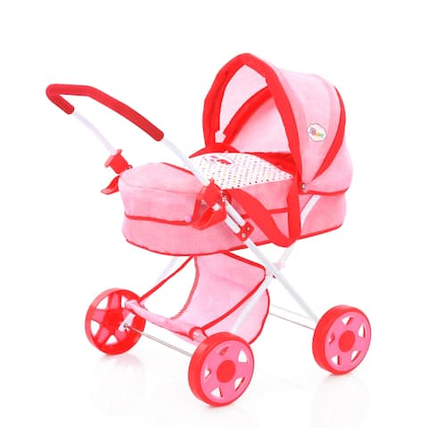 Little Mommy Doll Pram with Canopy