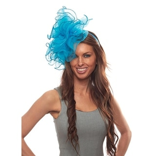 Daily Double Fascinator Cocktail Hat with Headband and Clip