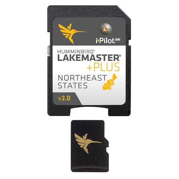 Humminbird 600045-1 LakeMaster NorthEast States PLUS w/ Scrollable Lake List