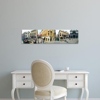 Easy Art Prints Panoramic Images's 'Buildings in a city, Venice, Veneto, Italy' Premium Canvas Art