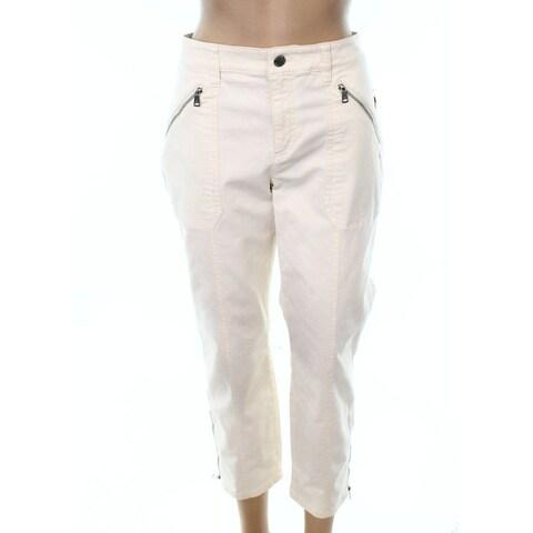 Lauren by Ralph Lauren Ivory Women 16X25 Capris Stretch Pants