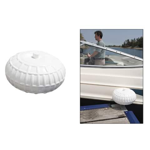 Dock edge inflatable dock wheel 12 white 95-072-f