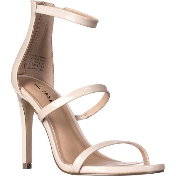 Call It Spring Astoelian Triple Strap Dress Sandals, Bone