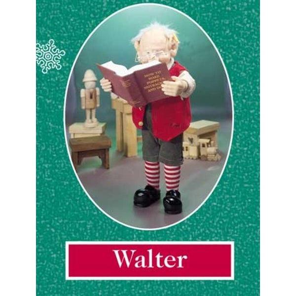 "12.5"" Zims The Elves Themselves Walter Collectible Christmas Elf Figure - multi"