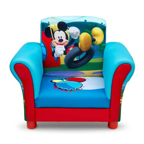Mickey Mouse Upholstered Chair by Delta Children