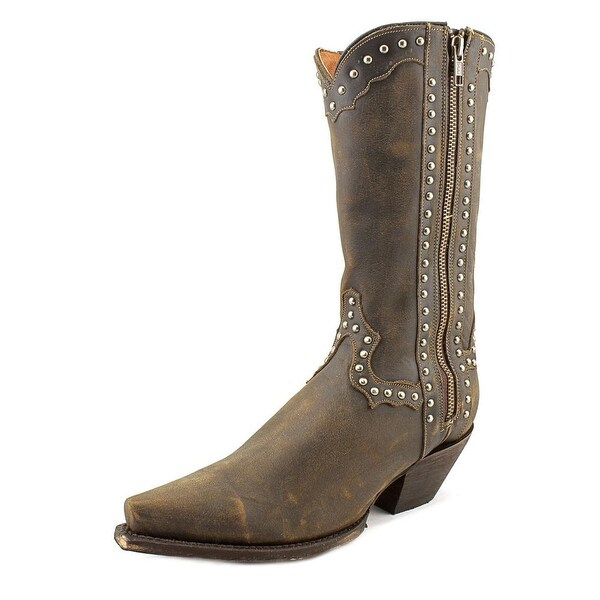 Dan Post Lad 11 Pointed Toe Leather Western Boot