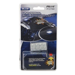 Pilot Automotive Universal Car LED Interior Dome Light