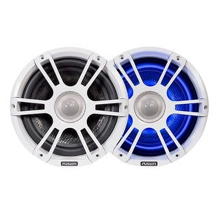 Fusion 010-01826-00 FL88SPW Illumination Speakers with 8.8 White Sports Grill