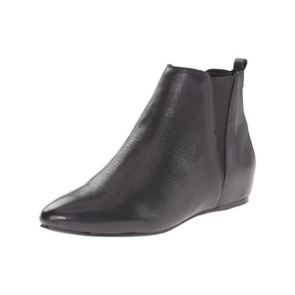 Calvin Klein Womens Magica Booties Almond Toe Dress - 7.5 medium (b,m)
