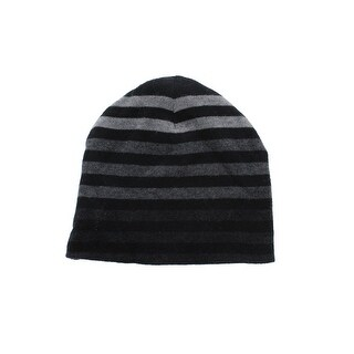 Zara Boys Cotton Striped Beanie Hat - XS/S
