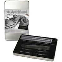 Advanced Charcoal Art Set W/Tin-