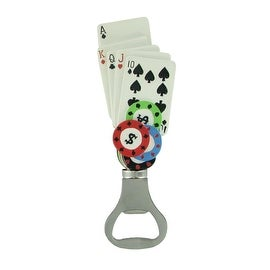Pop Pops Hand Painted Poker Bottle Opener By Russ