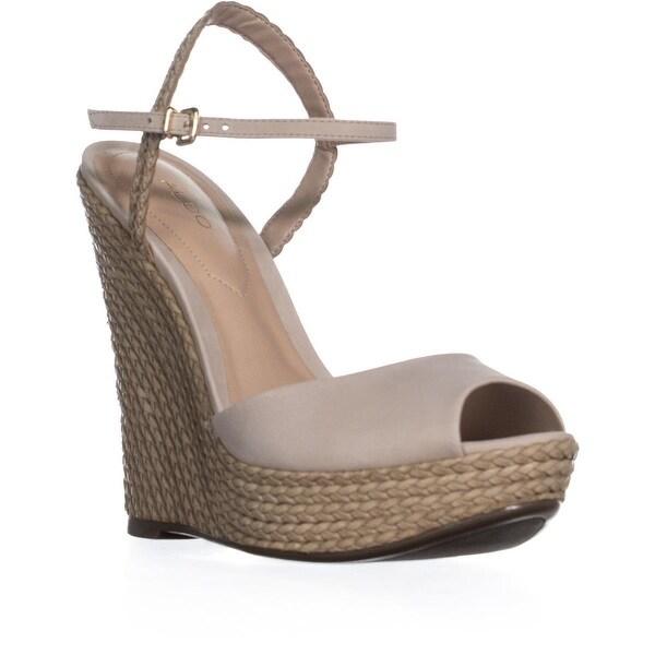 5ec97f7eaa88 Shop Aldo Shizuko Ankle-Strap Wedge Sandals