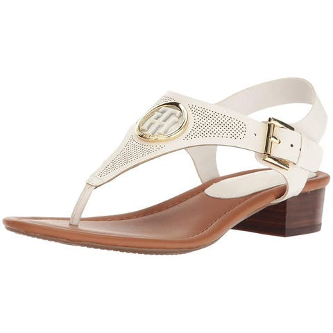 Tommy Hilfiger Womens Kandess Open Toe Casual Ankle Strap Sandals