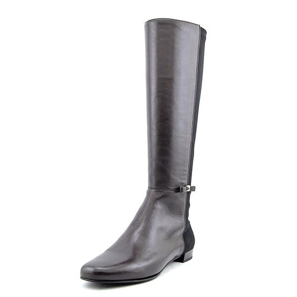 Kate Spade Olivia Round Toe Leather Knee High Boot