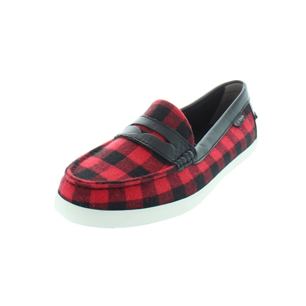 731883616d6 Shop Cole Haan Womens Pinch Weekender Penny Loafers Buffalo Plaid ...