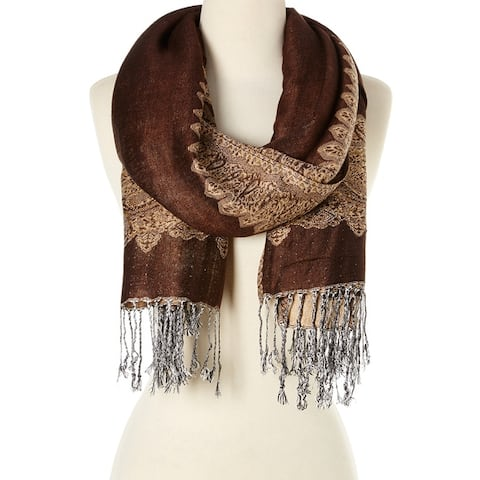Fashionable High Class Women's Scarf And Pashmina Neck Wraps Scarf