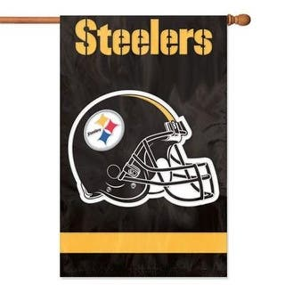 Party Animal Pittsburgh Steelers Banner Nfl Flag, Black|https://ak1.ostkcdn.com/images/products/is/images/direct/12b688effb376044a985880c1bc1fb84d334d6d1/Party-Animal-Pittsburgh-Steelers-Banner-Nfl-Flag%2C-Black.jpg?impolicy=medium