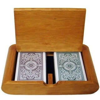 Bry Belly Wooden Box Set Arrow Green-Brown Narrow Regular
