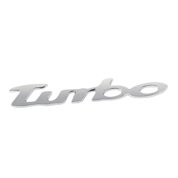 Pilot Automotive Chrome Turbo ABS Plastic Emblem