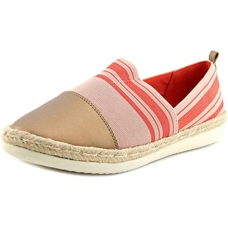 Easy Spirit Ordell Round Toe Canvas Flats