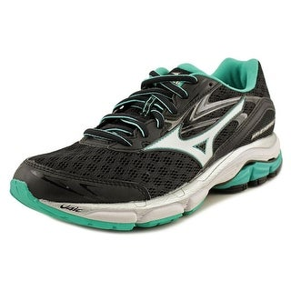 Mizuno Wave Inspire 12 Women  Round Toe Synthetic Black Running Shoe