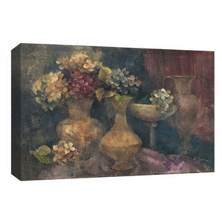 "PTM Images 9-153922  PTM Canvas Collection 8"" x 10"" - ""Composition in Blue"" Giclee Flowers Art Print on Canvas"