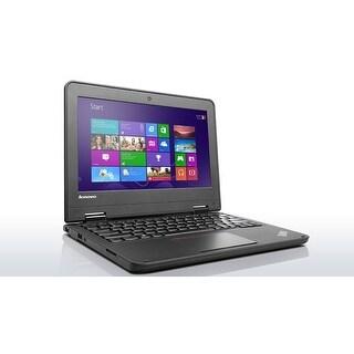 Lenovo ThinkPad 20GBS00S00 Intel Celeron N3160 X4 1.6GHz 4GB 128GB, Black (Certified Refurbished)