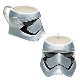 ZAK Silver Star Wars The Force Awakens Captain Phasma Ceramic Coffee Mugs
