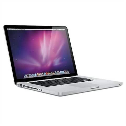 Apple MacBook Pro MC371LLA Intel Core i5-520M X2 2.4GHz 4GB 320GB, Silver (Certified Refurbished)