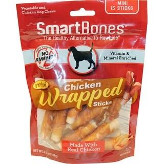 Smartbones Chicken Wrapped Mini Sticks