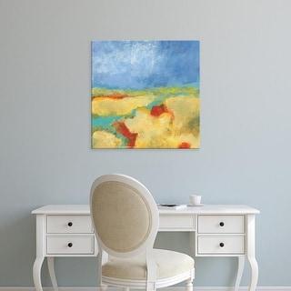 Easy Art Prints Jan Weiss's 'Meandering River' Premium Canvas Art