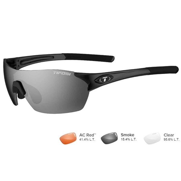 Tifosi Brixen Gloss Black Sunglasses