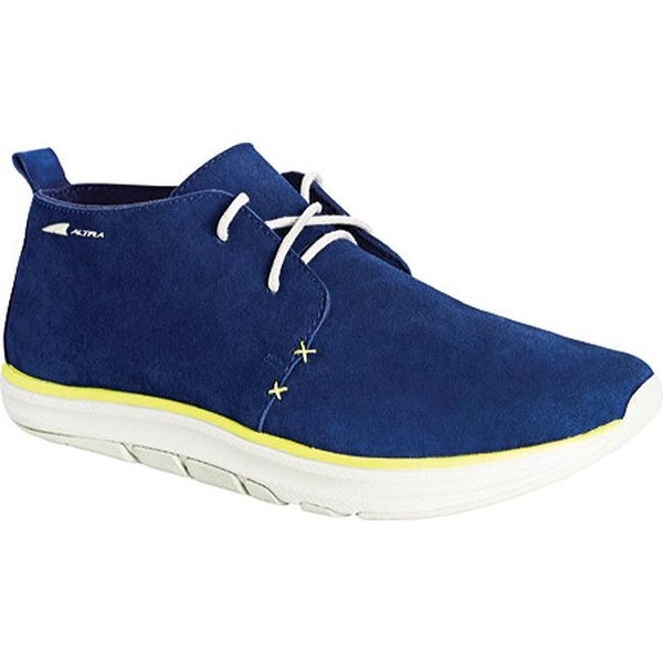 6558ceb2797 Shop Altra Footwear Men's Smith Chukka Boot Blue/Lime - On Sale ...