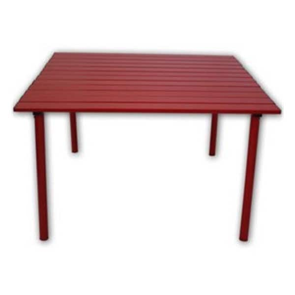 Table In A Bag Low Aluminum Portable Red 16 X 27 Free Shipping Today 26591758