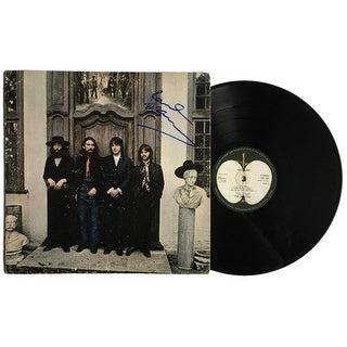 Paul McCartney Signed The Beatles Hey Jude Record Album Mint 9 Grade BAS A10374