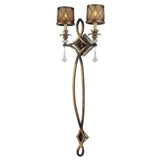 Minka Lavery 4742 2 Light Wallchiere Wall Sconce from the Aston Court Collection
