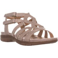 BareTraps Kaylyn Strappy Flat Sandals, Taupe