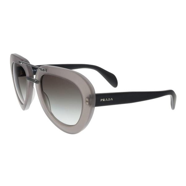 Prada PR28RS UBV0A7 Grey Aviator Sunglasses - 52-22-135