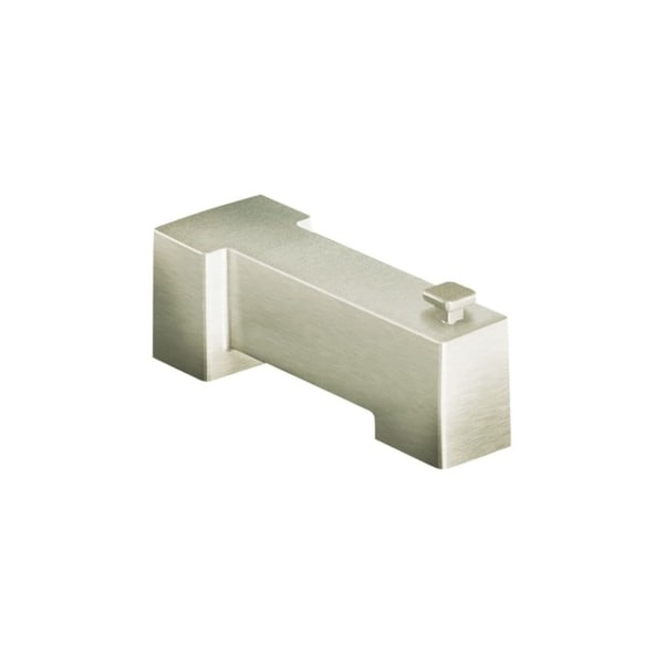 "Moen S3896 7 1/4"" Wall Mounted Tub Spout with 1/2"" Slip Fit Connection from the 90 Degree Collection (With Diverter)"