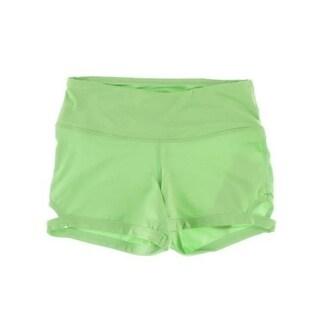 Capezio Womens Calabria Hidden Pocket Cut-Out Shorts - M
