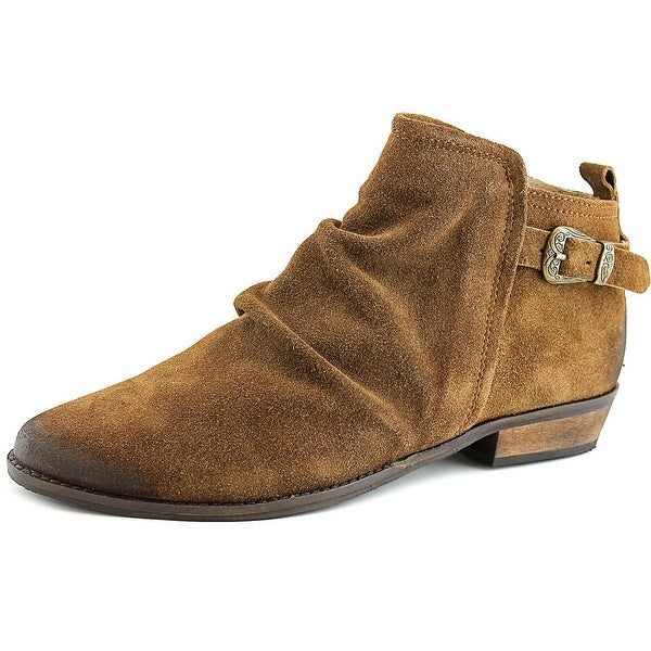Naughty Monkey Buckle Me Up Women Round Toe Suede Bootie