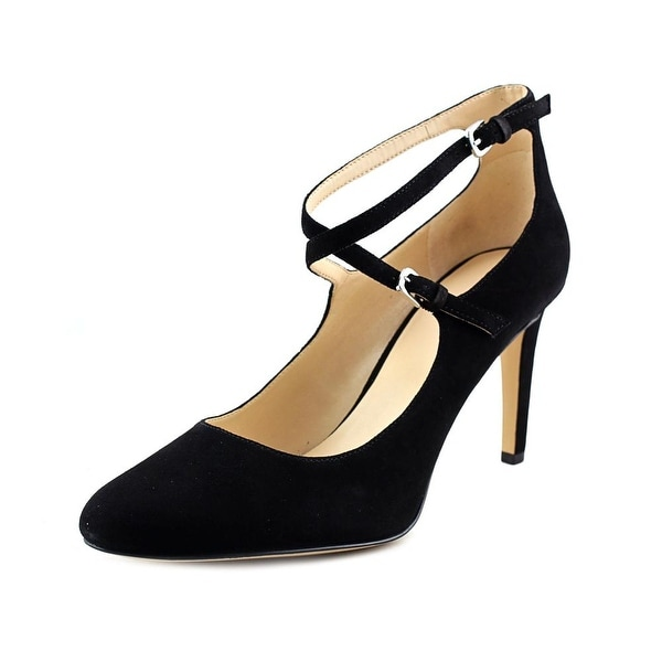 54477a6e0b Shop Nine West Hannley Black Pumps - Free Shipping On Orders Over ...