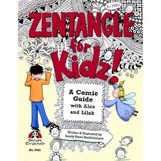 Design Originals Book - Zentangle for Kidz! by Sandy Steen Bartholomew