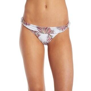 Vix Paula Hermanny NEW White Women Size Medium M Bikini Bottom Swimwear