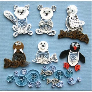 Quilling Kit-Arctic Buddies|https://ak1.ostkcdn.com/images/products/is/images/direct/12c8cd8af0c97cb0c7a10f7c7cde79fbbcc6a7f6/Quilling-Kit-Arctic-Buddies.jpg?impolicy=medium