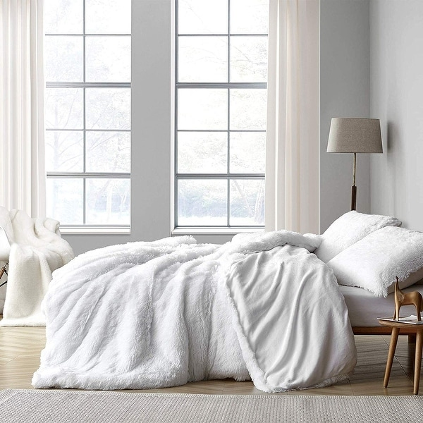 Coma Inducer Oversized Duvet Cover - Are You Kidding? - White. Opens flyout.