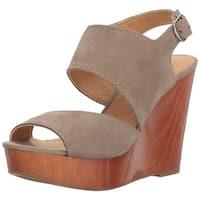 Lucky Brand Womens LK-Lattela NuBuck Open Toe Casual Platform Sandals