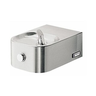 Elkay EDFP214FC ADA Wall Mount Single Level Soft Sides Fountain with Prepped Glass Filler
