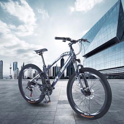 TiramisuBest Mountain Bike 26/20inch steel Black/White
